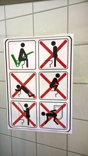 arabische toilette piktogramm