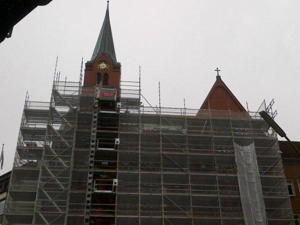 die schwedische kirche in hamburg wird renoviert schweden in deutschland. Black Bedroom Furniture Sets. Home Design Ideas